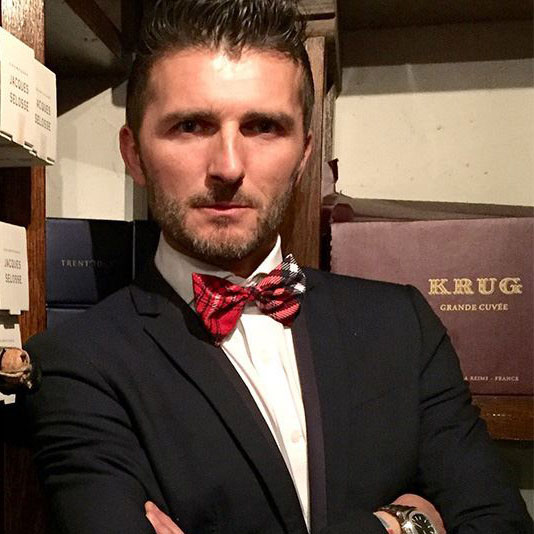Thoma Rossi chef e sommelier